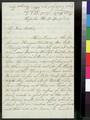 Thomas Clarke Wells to Sarah Elizabeth Clarke Wells - p. 1