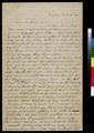 Martha L. Davis to Samuel and Florella Adair - p. 1