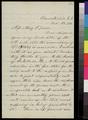 Samuel L. Adair to Mary P. Green - p. 1