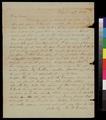 Rachel Garrison to Samuel L. Adair - p. 1