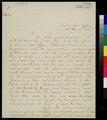 Thomas A. Hendricks to John A. Halderman - p. 1