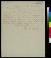 George W. Brown to John A. Halderman