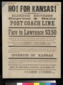 Ho! For Kansas! Eldridge Brothers' Express & Daily Post Coach Line