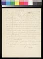 James W. Denver to his dear wife - p. 4