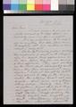 George W. Clarke to Samuel J. Jones - p. 1