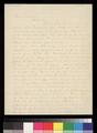 Augustus Wattles to George W. Brown - p. 1