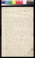 Caleb S. Pratt to Thomas W. Higginson - p. 1
