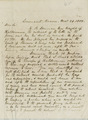 Thomas Ewing, Jr. to William S. Reyburn - p. 1