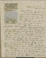 Samuel Clarke Pomeroy to Thaddeus Hyatt - p. 1