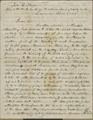 Charles Robinson to Eli Thayer