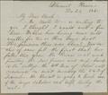 Henry L. Denison to Joseph Denison
