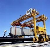 AT&SF Drott straddle loader