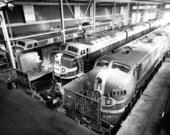 Atchison, Topeka and Santa Fe Railway Company yards, Argentine, Kansas
