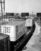 Atchison, Topeka & Santa Fe Railway Company's piggyback trailers