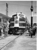 Atchison, Topeka, & Santa Fe Railway Company FT diesel engines, Hutchinson, Kansas