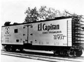 Atchison, Topeka & Santa Fe Railway Company's refrigerator car, Hutchinson, Kansas