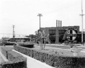 Atchison, Topeka and Santa Fe Railway Company yards, Temple, Texas - all