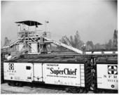 Atchison, Topeka, & Santa Fe Railway Company Self Propelled Icing Machine