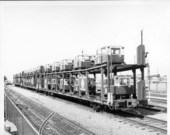 Atchison, Topeka & Santa Fe Railway Company's bi-level autorack car