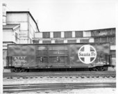 ACF boxcar with dual plug door