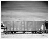 100 ton covered centerflow hopper car