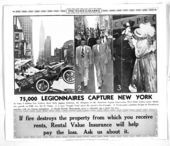 75,000 Legionnaires capture New York