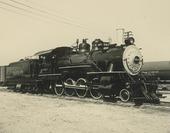 Atchison, Topeka & Santa Fe Railway Company's steam locomotive #664