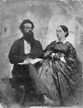 Charles Fredrick William Leonhardt with an unidentified woman