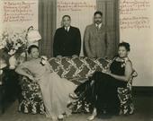 Nathella Sawyer Bledsoe, Frank S. Bledsoe, Aaron Douglas, and Alta Sawyer Douglas