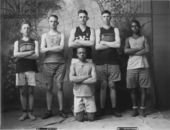 Basketball team, Paxico, Kansas