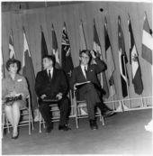 Robert Francis Kennedy at Kansas State University, Manhattan, Kansas