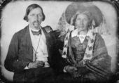 Isaac Brown and wife