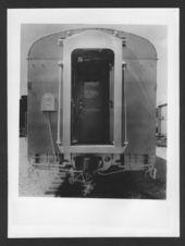 Atchison, Topeka & Santa Fe  Railway's Palm Arch passenger car