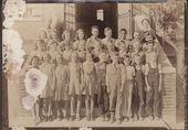 Students and teachers at Eureka Number 1Grade School, Wichita, Kansas