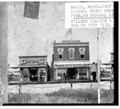 Fitch Drug Store and Pickard's General Store, Washington, Kansas