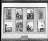 John Steuart Curry's preliminary sketches for the Kansas Capitol in Topeka, Kansas