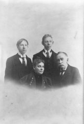 Brinton W. Woodward and family