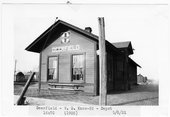 Atchison Topeka and Santa Fe Railway Company depot, Deerfield, Kansas
