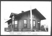 Atchison, Topeka & Santa Fe Railway Company depot, Murdock, Kansas