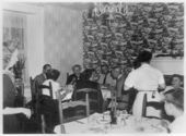 Dining room at Grinter Place, Wyandotte County, Kansas