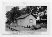 Atchison Topeka and Santa Fe Railway Company tool house, Rago, Kansas