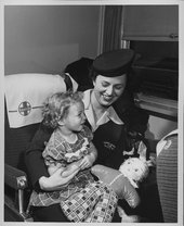 Margaret Griffin, Santa Fe courier nurse