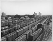 Atchison, Topeka & Santa Fe Railway Company yards, Clovis, New Mexico