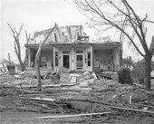 Tornado damage, Topeka, Kansas