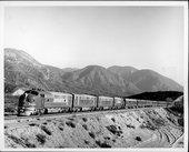 Atchison, Topeka & Santa Fe Railway Company's chief, Cajon Pass, California