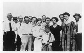 Group photographs, Hoxie, Kansas