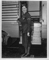 Dorothy Thegerstrom, Santa Fe courier nurse