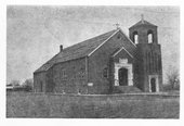 Immanuel Lutheran Church near Hoxie, Kansas