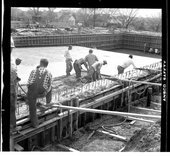 Swimming pool construction, Topeka, Kansas