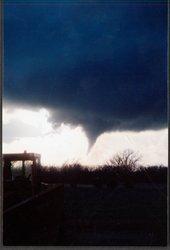 Tornado near Caldwell, Kansas